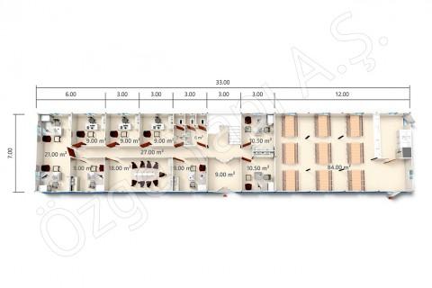 BKO 273 m2 - المخططات