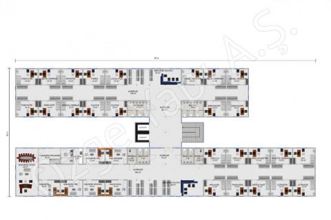 المستشفى 4340 مترًا مربعًا - الطابق الأول والثاني