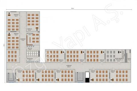 المدرسة الابتدائية 2388 مترًا مربعًا - الطابق الأول والثاني