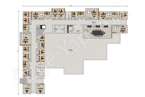 المكتب 3492 مترًا مربعًا - المشاريع النموذجية