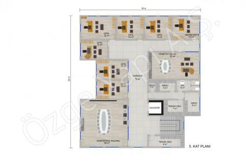 Office 697 m2 - الطابق الخامس