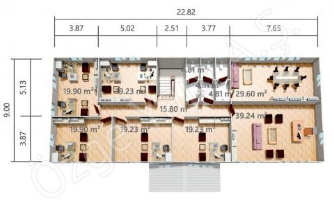 PRO 415 m2 - الطابق الاول