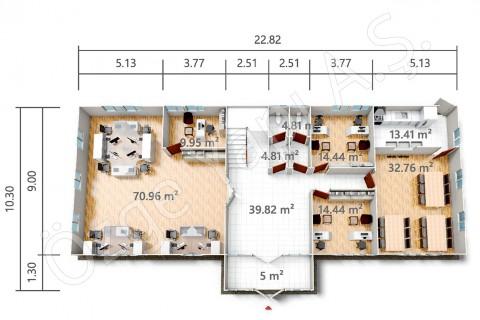 PRO 415 m2 - الطابق الأرضي