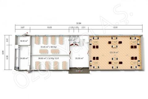 PRST 598 m2 - الطابق الأرضي