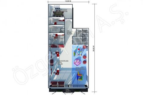 مكتب المبيعات 302 متر مربع