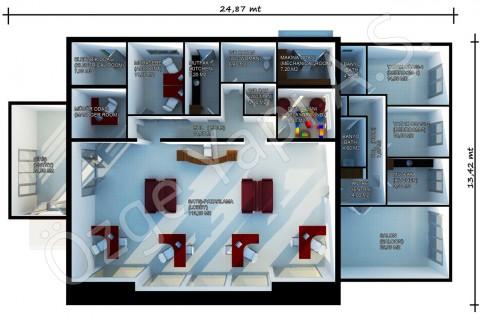 مكتب المبيعات 318 متر مربع