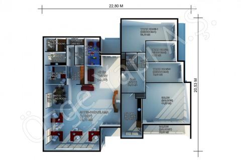مكتب المبيعات 378 متر مربع