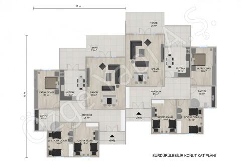 المنازل التوأم أحادية الطابق