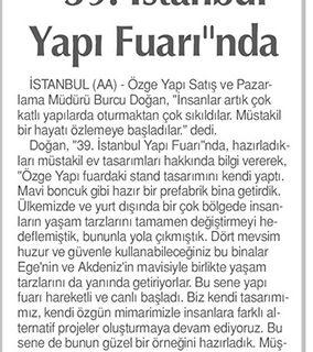 Tünaydın صحيفة