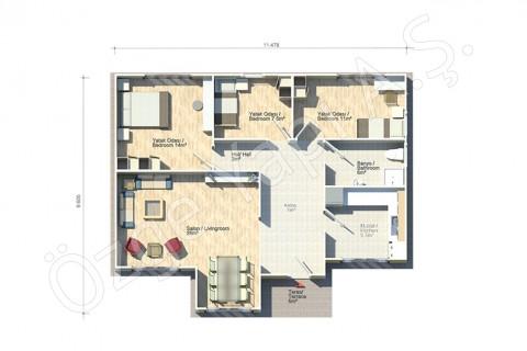 Akasya 95 m2