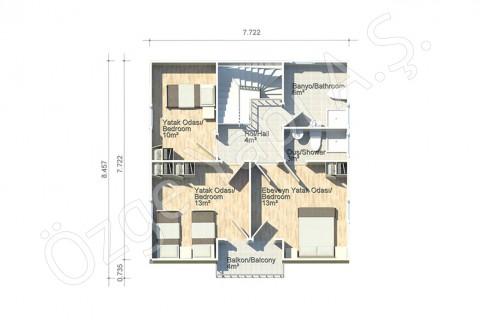 Anemon 128 m2 - الطابق الاول