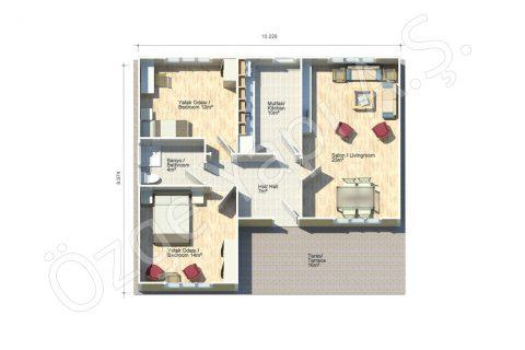 Begonya 92 m2