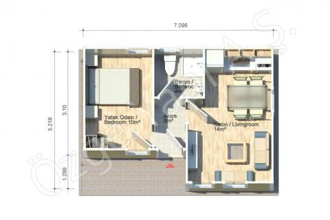 Fulya 37 m2