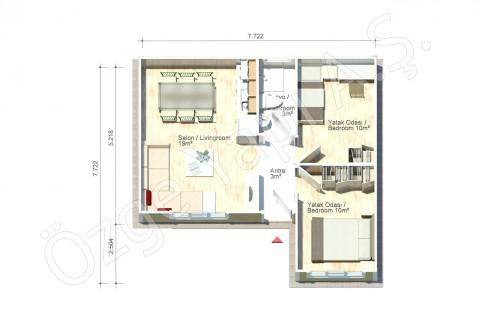 Gardenya 47 m2