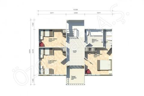 Orkide 159 m2 - الطابق الاول
