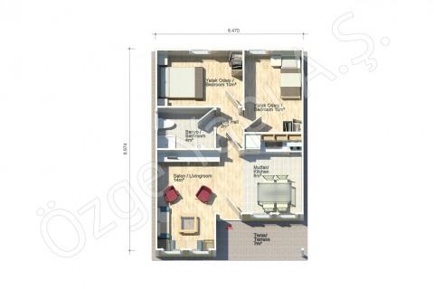 Petunya 58 m2