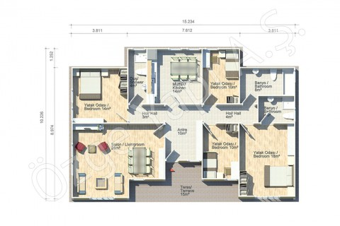 Sardunya 138 m2