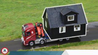 هل يمكن نقل البيت مسبق الصنع؟